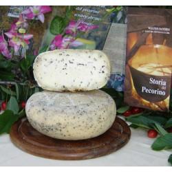 Formaggio con Tartufo Bianco (Tuber borchii) e Nero (Tuber aestivum) 300 g