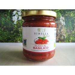 Sugo al Basilico Bio 0,19 gr - Sibilla Norcia