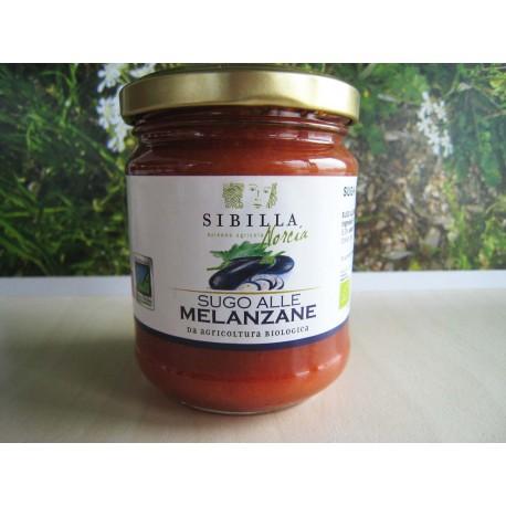 Sugo alle melanzane bio 0,190 - Sibilla Norcia