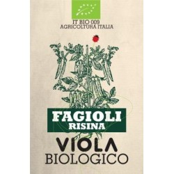 FAGIOLO RISINA BIOLOGICO 500 g