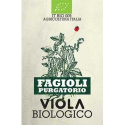 FAGIOLO PURGATORIO BIOLOGICO VIOLA 500g
