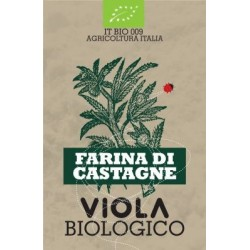 FARINA DI CASTAGNE DA AGRICOLTURA BIOLOGICA VIOLA 500g