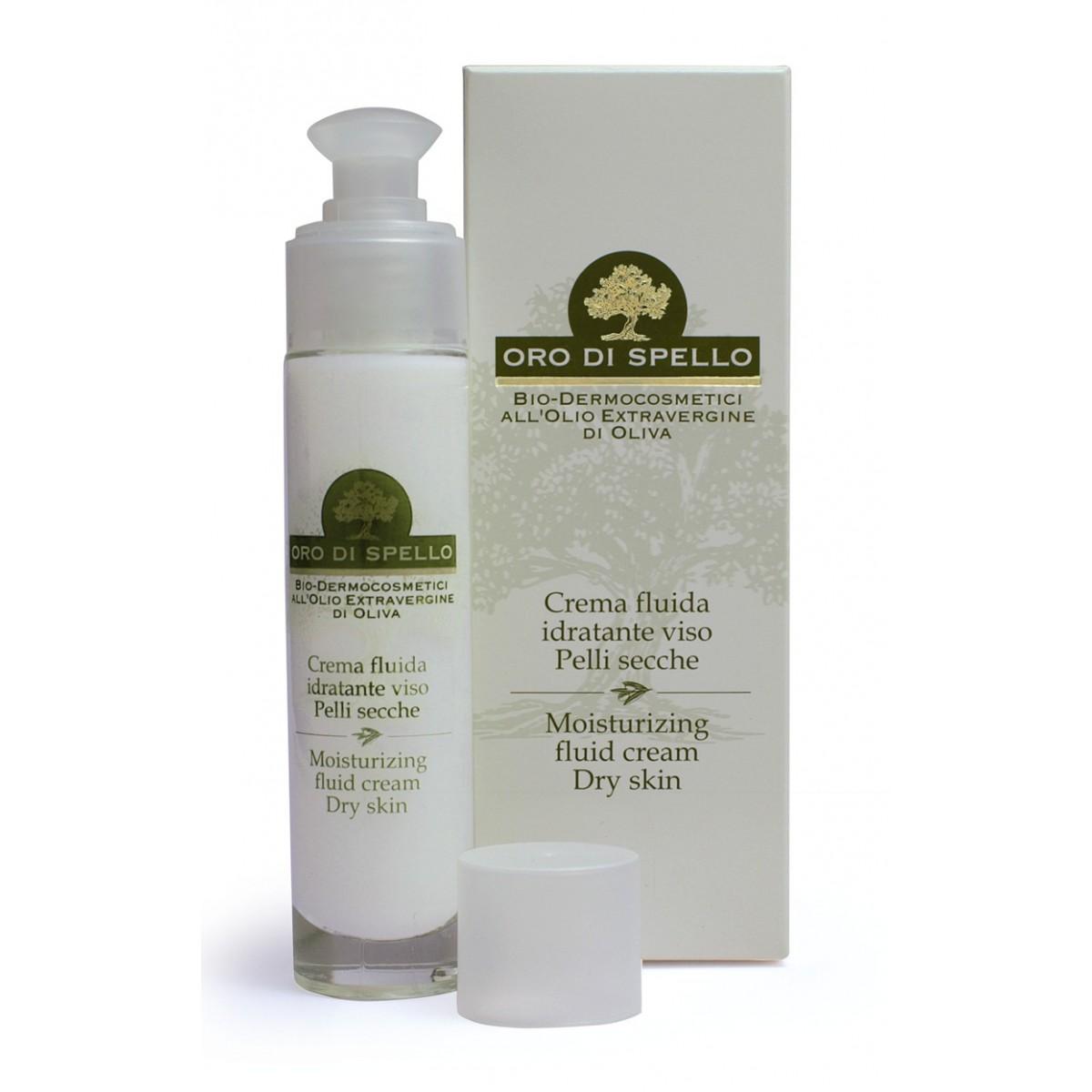 Fluid Creme Für Trockene Haut Gesicht 50ml Best Italy Store