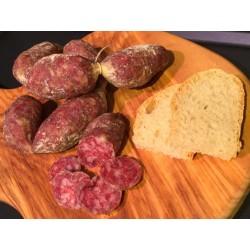 Italienne Assaisonné Saucisse de porc 600g Plateau Colfiorito