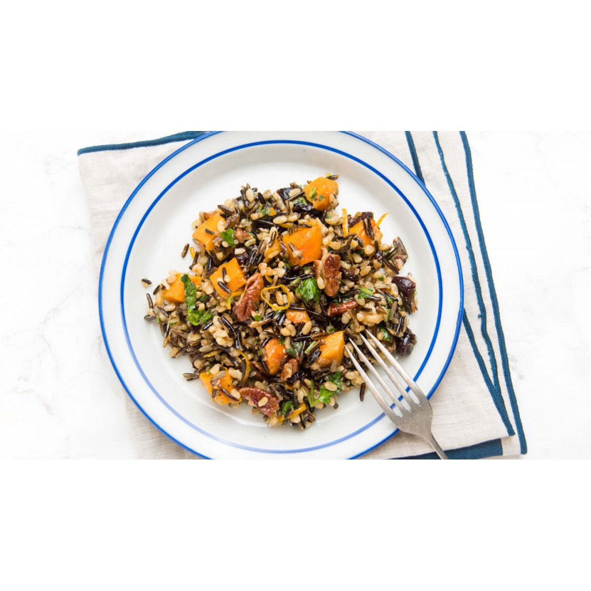 Colorful contour with Sprouts of Farro (Corn)