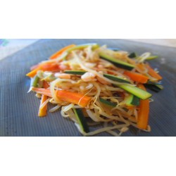 Pumpkin Salad with Flax Sprouts
