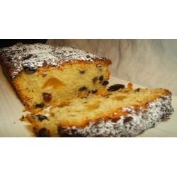 Plum cake di castagne e germogli di grano