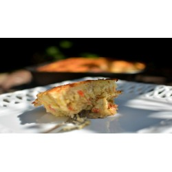 Potato Cake with Radish Sprouts