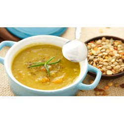Sopa de Amaranto al Curry