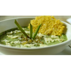 Casselle Leaves and Root Soup (Vegetables)